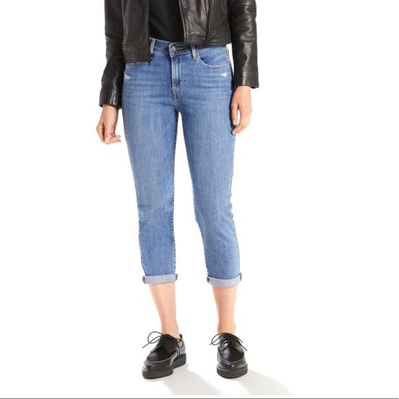 Levi's Denim - Levi's classic cropped jeans size 16